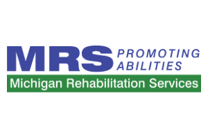 Michigan Rehabilitation Services logo with tagline: Promoting Abilities